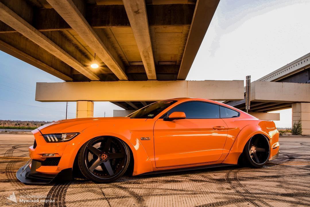 2015 Comp Orange Mustang GT